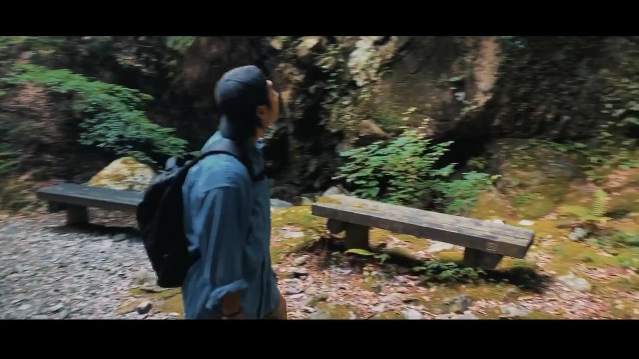 雨乞いの滝
